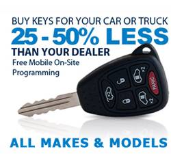 Transponder Key Savings