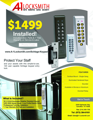 Schlage Keypad For Businesses