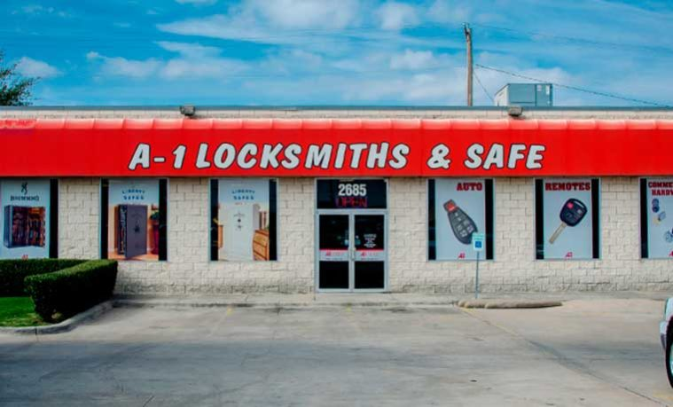 A-1 Locksmith Dallas, TX - Dallas Locksmith - Safe Sales