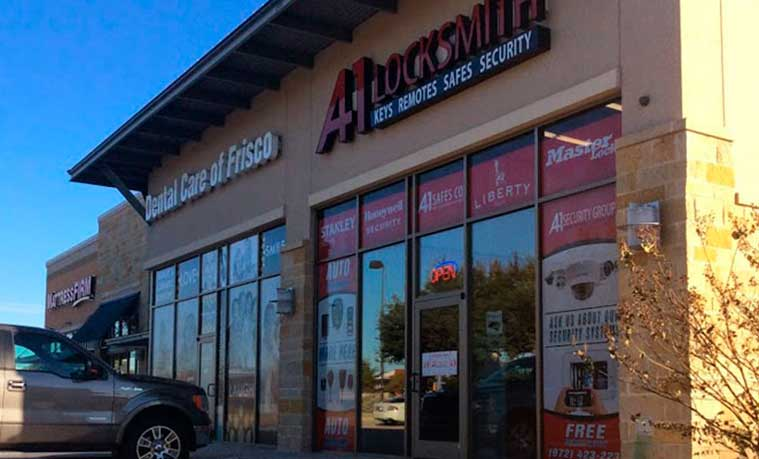 A-1 Locksmith Frisco, TX - Frisco Locksmith - Safe Sales