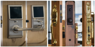 The Electronic vs. Traditional Commercial Lock Debate